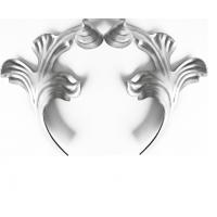 Листья парные  штамп 130x230 2mm