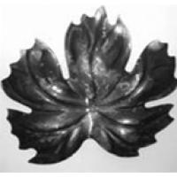 Лист виноград  штамп 152х142х2мм