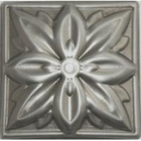 Цветок накладка 100х100х1мм